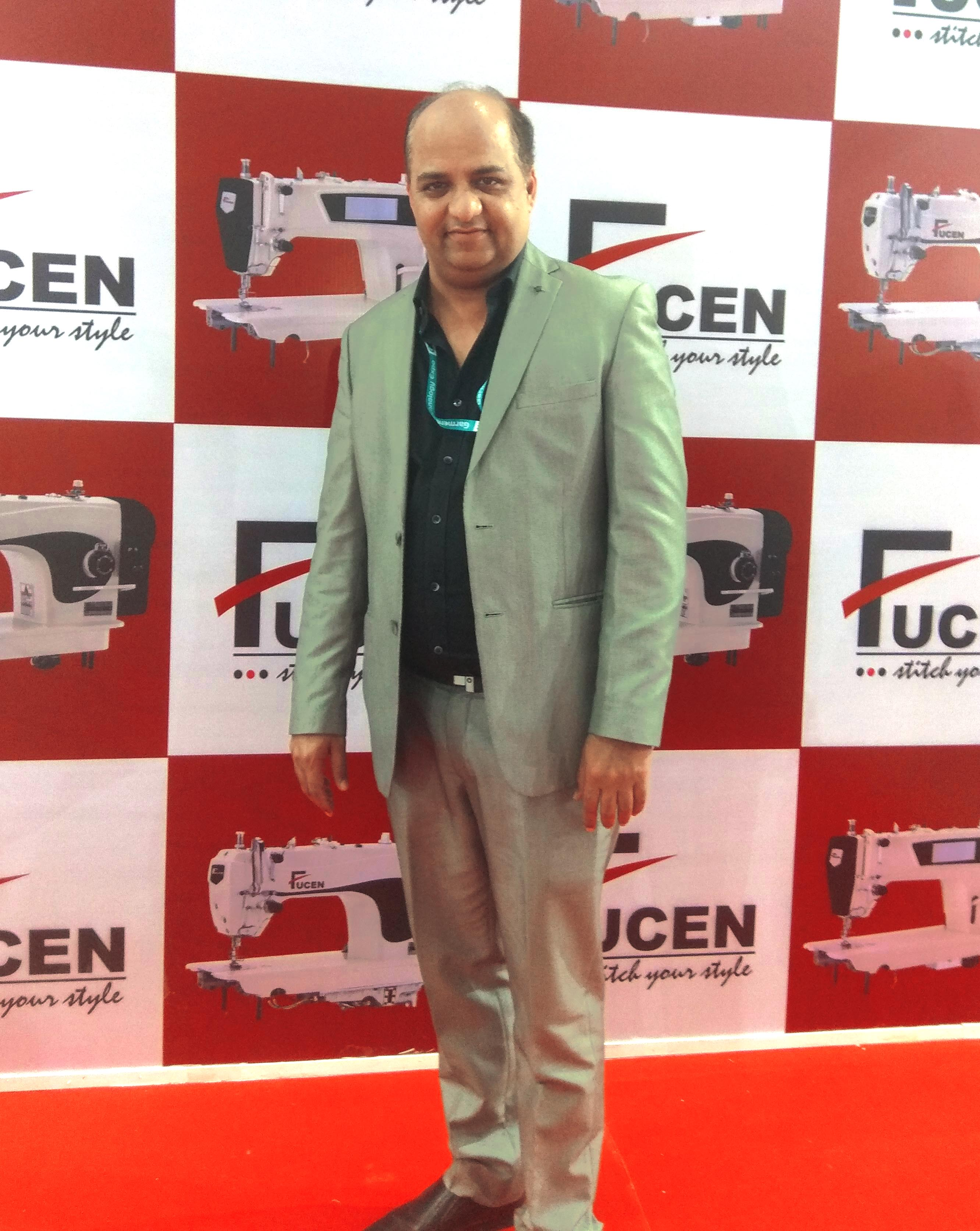 t Narang, Director, STI Apparel Automation Pvt. Ltd. (India Business Partner of Fucen)
