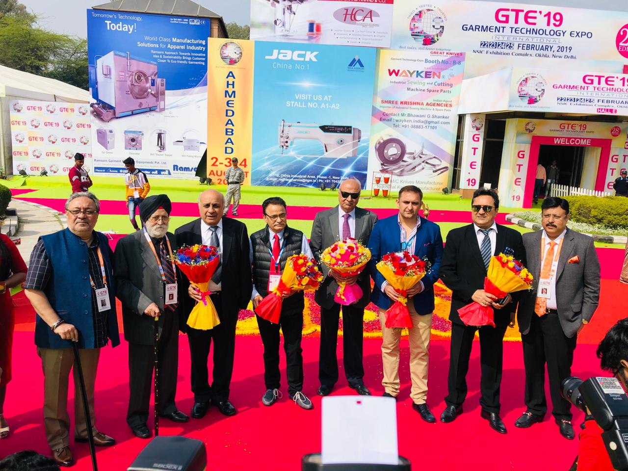 Industry stalwarts at GTE 2019 Inaugural Ceremony