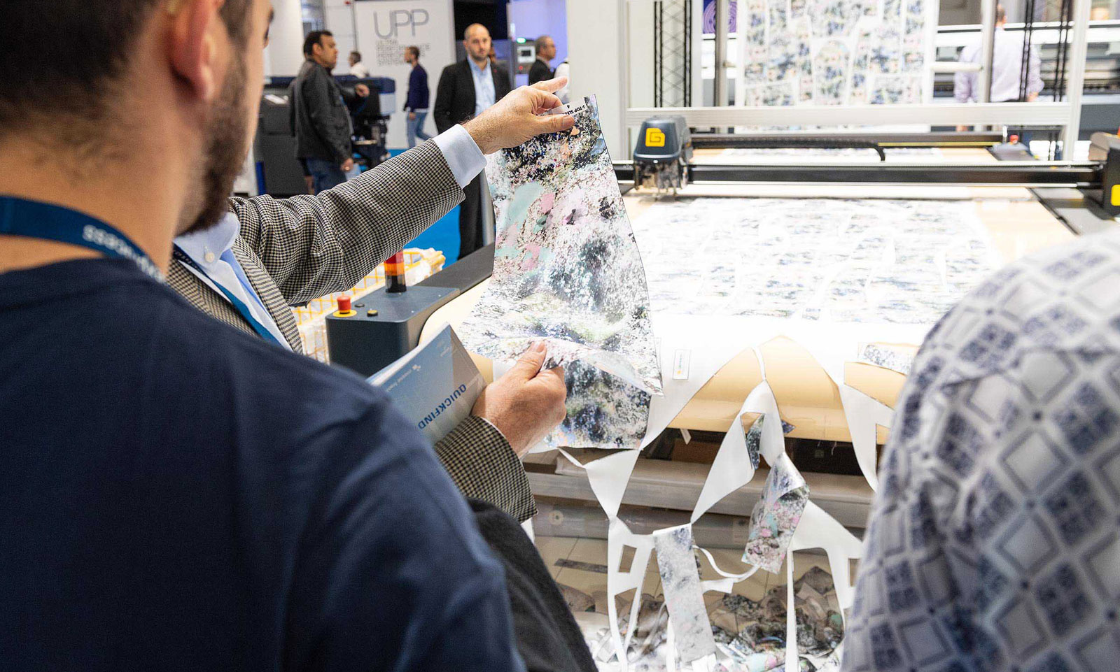 Texprocess LIVE: Gerber Technology Exhibits Special Printing