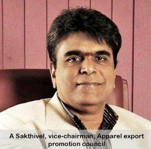 Dr A Sakthivel, Chairman, AEPC