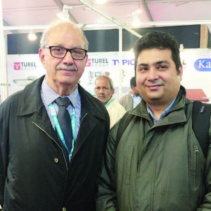Viraf Turel , MD, EH Turel & CO with Xerxxes Doodhwala