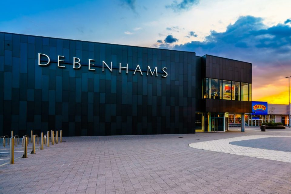 Debenhams To Close Six Stores Permanently