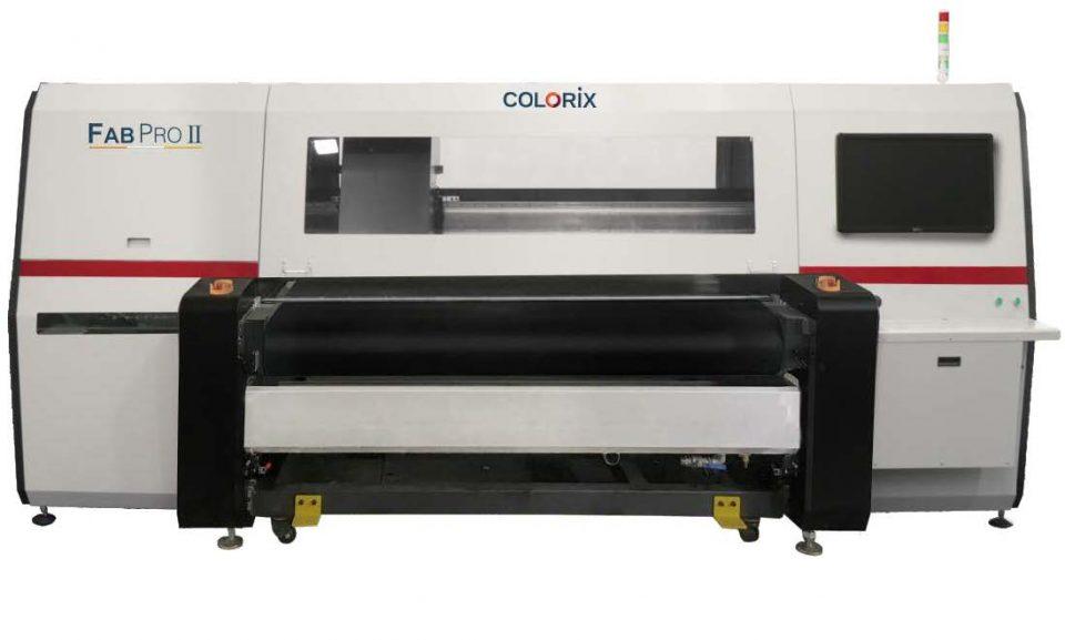 Colorix machines Creating Milestone in Digital Textile Printing