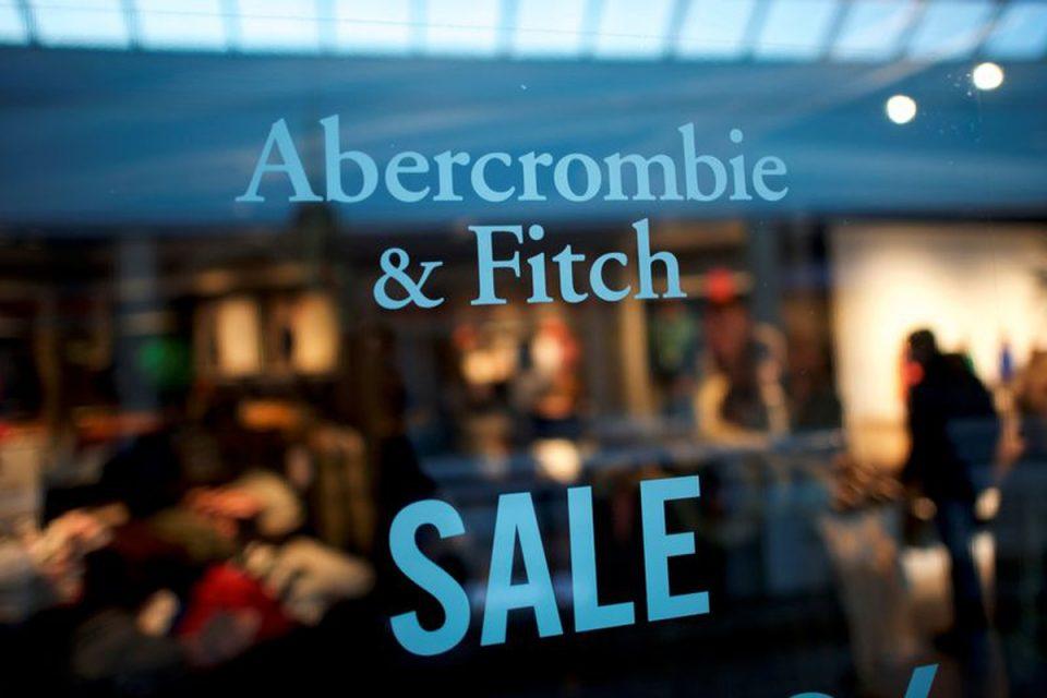 Abercrombie & Fitch's second-quarter online sales surged 56%.