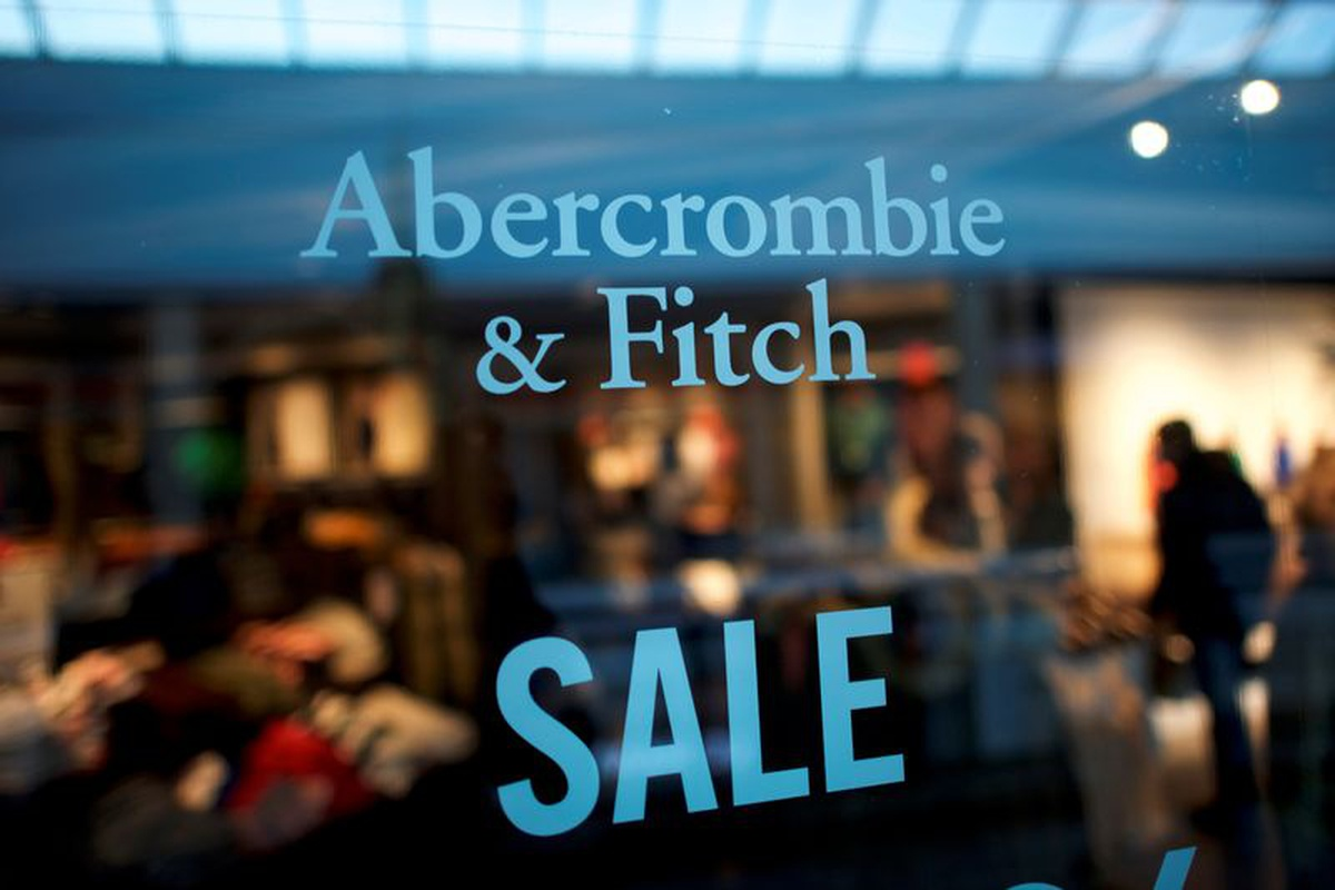 Abercrombie & Fitch's second-quarter online sales surged 56%.