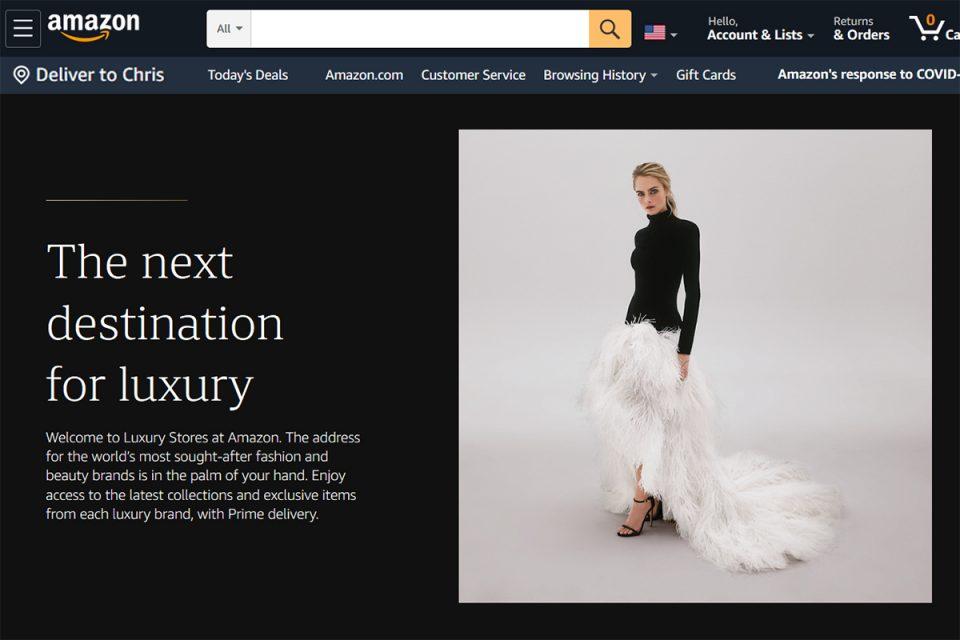 Amazon 'Luxury Stores' launching Oscar de la Renta