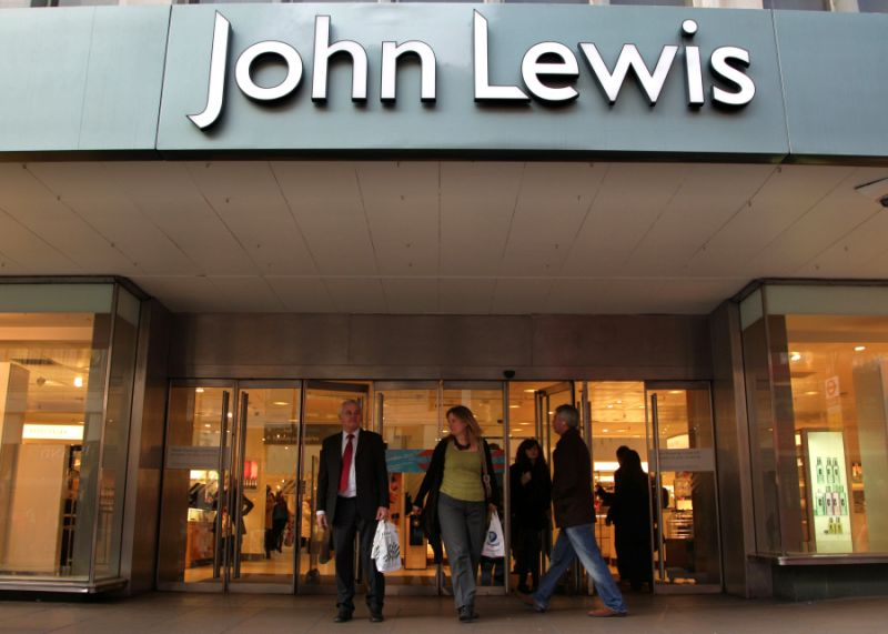 John Lewis posts losses