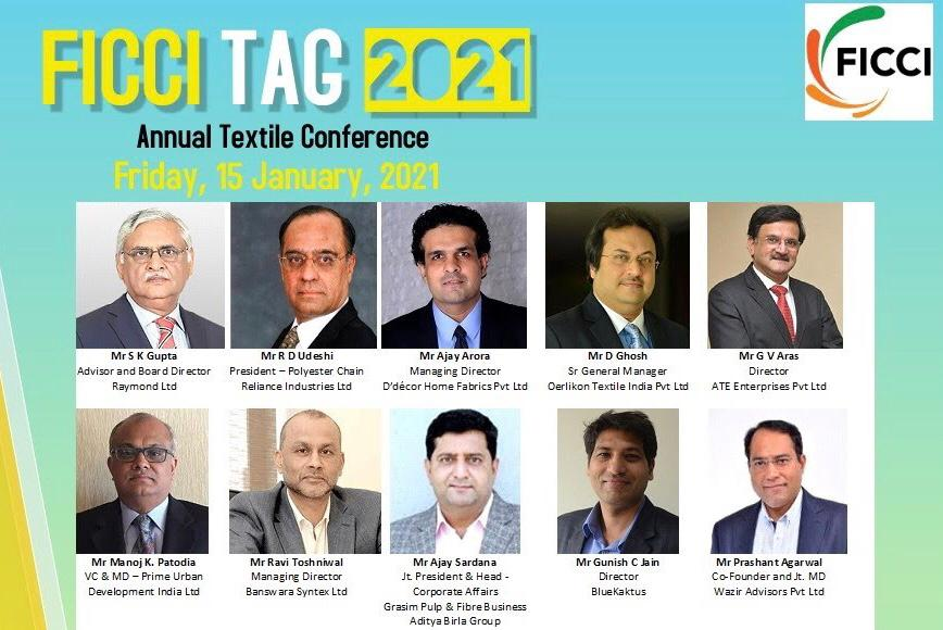 FICCI TAG 2021, 12th annual textile and apparel conference