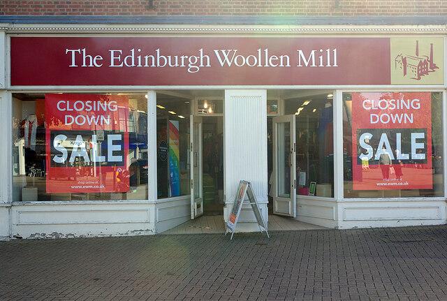 Edinburgh Woollen Mill Gets a Buyer?
