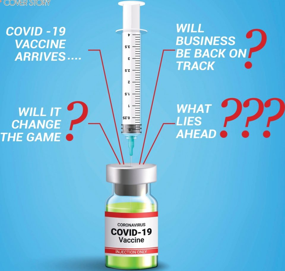 Covid -19 Vaccine Arrives.....Will business be back on track?