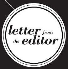 letter from editor