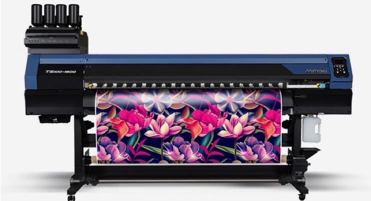 Mimaki USA Launches New Textile Printers