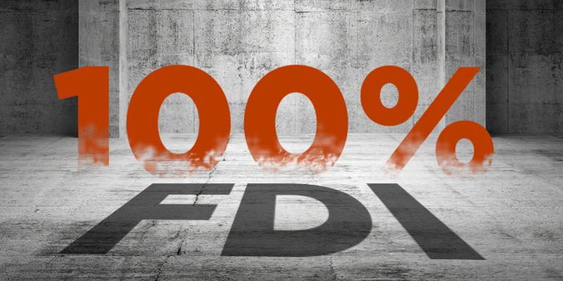 100% FDI in Retail Trade