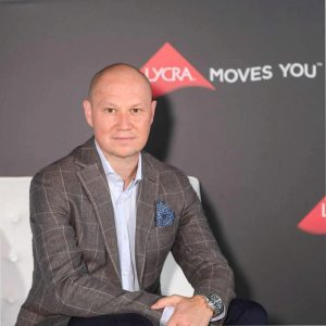 Julien Born, CEO of The LYCRA Company