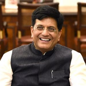 PIYUSH GOYAL IS THE NEW TEXTILE MINISTER