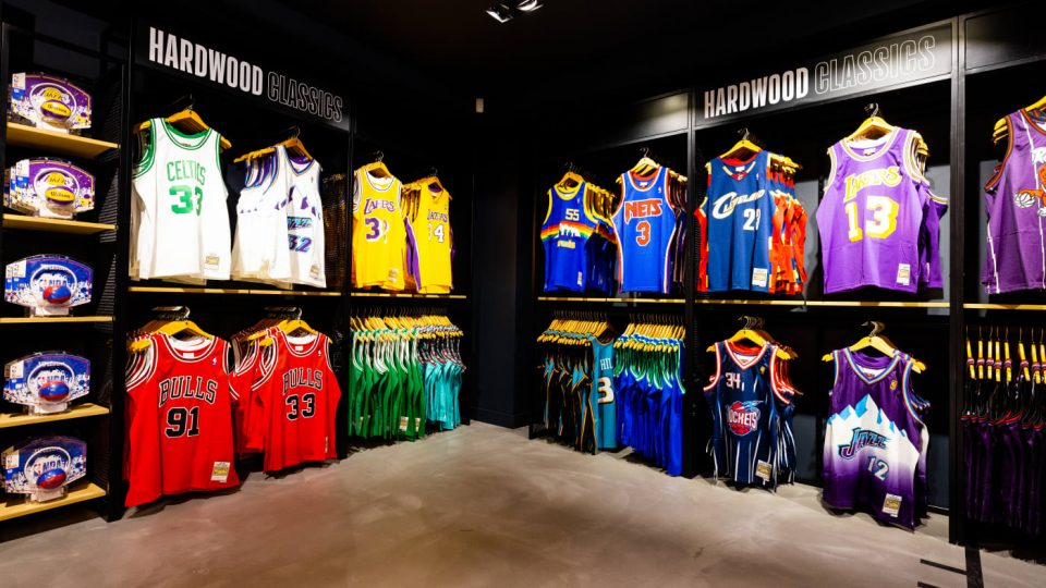 The NBA opens its first Store in London
