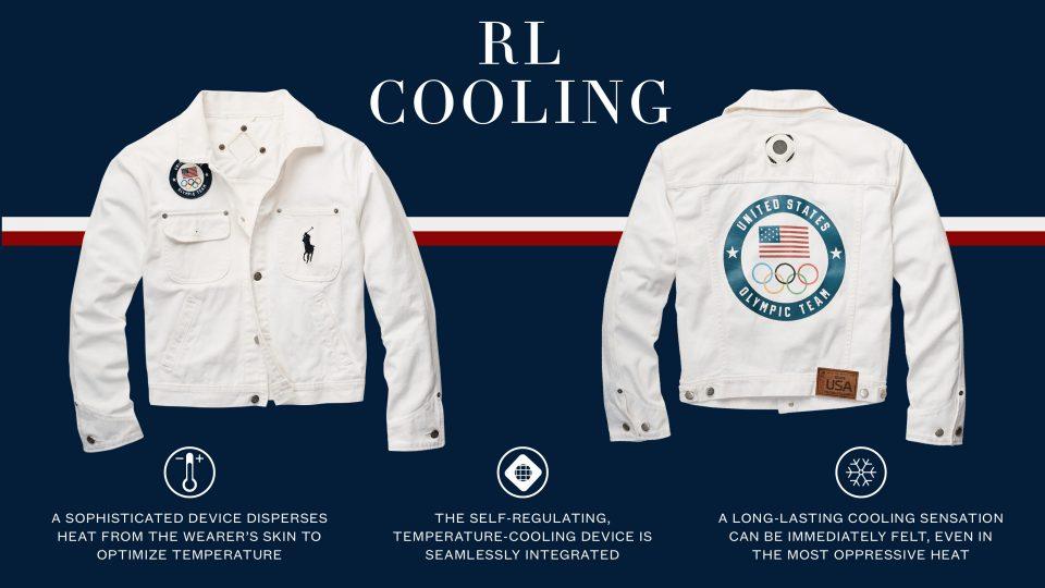 Ralph Lauren Unveils Range with RL Cooling Tech