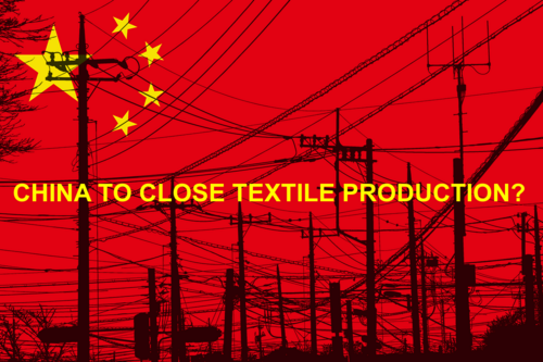 CHINA TO CLOSE TEXTILE PRODUCTION?